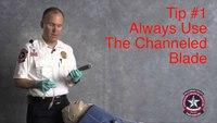 Safer VL intubation: Use video laryngoscope channel blade