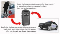DutyCAM Body Worn Video Camera for Police, Fire, First Responder