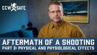 Aftermath of a Shooting Part 3: Physical and Physiological Effects
