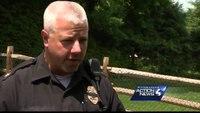 Pa. K-9 hurt in crash that killed cop returns home