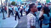 Philly cop punches woman at Puerto Rican parade