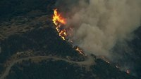 Firefighters face hot, dry, windy weather in Calif. wildifre