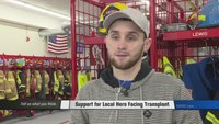 Community rallies behind firefighter in need of double lung transplant