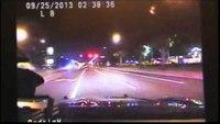 Fla. traffic stop ends in fiery crash