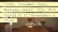 """Dear President Obama: """"We Will Give Him a Family"""""""