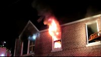 Raw video and radio traffic: 2-alarm NY house fire