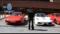 Ferrari replicas seized by Spanish police