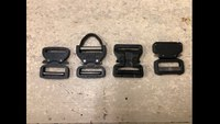 The Difference in Buckles Ray Allen Uses on Harnesses, Collars and Other K9 Gear.