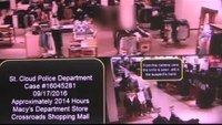 St. Cloud mall stabbing surveillance footage