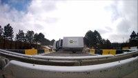 Ambulance rollover crash test video