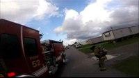 La. fire dept. responds to mobile home blaze