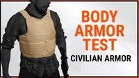 AR15.com Tests HighCom Civilian Body Armor with Magnum, Mac-10, Mp5, Shotgun