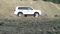IAG Toyota Landcruiser VR7 Blast Testing