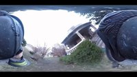 Helmet Cam: 360-degree fire footage