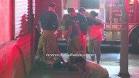 LAFD firefighters break up street fight