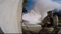 Hydrovent Demo With Interior Fire Cam 4K