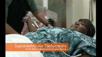 Treating supraventricular tachycardia with adenosine