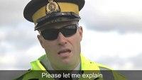 Respect the cop light bling