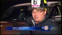 Firefighter injured battling Oxford blaze