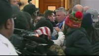 Scuffle breaks out during Mo. police review board hearing