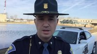 Trooper makes PSA for 'pretty incredible' turn signal