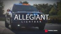 Federal Signal Allegiant Police Lightbar