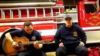 "Volunteer firefighters perform Eric Church's ""My Hometown"""