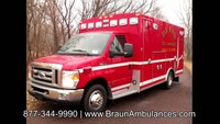 Elk River Fire & Ambulance on Braun Ambulance
