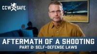 Aftermath of a Shooting Part 2: Self-Defense Laws