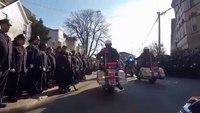 NYPD Det Rafael Ramos' funeral procession