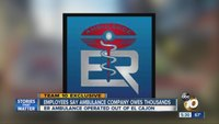 Employees say ambulance company took their paychecks