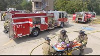 Shreveport Fire Commercial Building Fire NFPA 1403 Drill