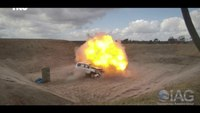 STANAG Level 2 Certified Toyota Land Cruiser 200 Blast