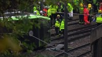 Raw: London Tram Derails, Multiple Injured