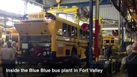 Tour of Blue Bird Corp. bus plant in Fort Valley
