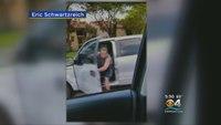 Fla. firefighter captures road rage attack
