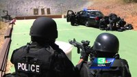 Tactical medics train with SWAT