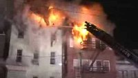 Raw video and radio traffic: 6-alarm N.J. apartment fire