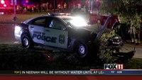 Wis. police officer involved in crash