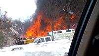Explosion levels condo complex in NJ