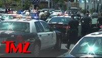 TMZ Tour runs into a police standoff in LA