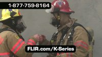 FLIR K-Series Thermal Cameras for Firefighting