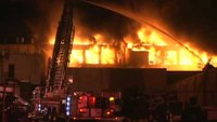 Massive NJ warehouse fire wipes out factory