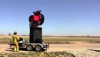 Watch Super Vac SVU positive pressure ventilator in action