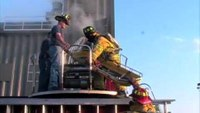 Firefighter Training: Ladder Truck Rescue