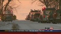 Lost, injured snowmobiler rescued