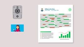 GreenKey police body camera audio analysis