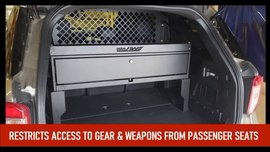 Estes AWS Cargo Barrier for 2020 Ford PIU