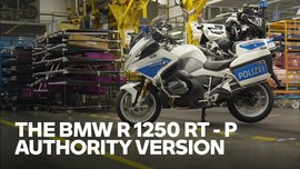Straight out of the factory – The R 1250 RT - P authority version!