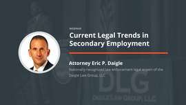 Current Legal Trends in Secondary Employment